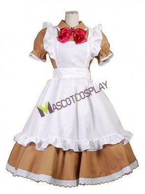Hetalia: Axis Powers Chibi Romano Maid Cosplay Costume