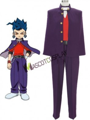 Inazuma.Eleven.Go Endou Anime Cosplay Costume Made of Nylon