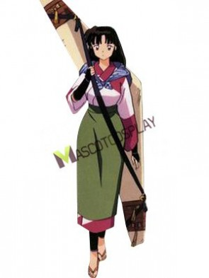 Inuyasha Sango Casual Wear Cosplay Costume