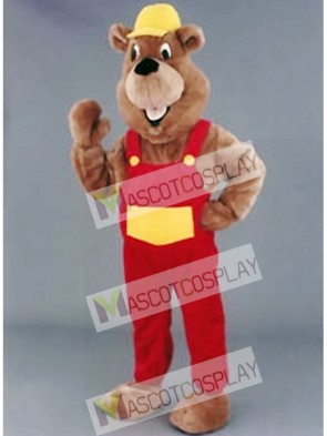Beaver Mascot Costume for Promotion