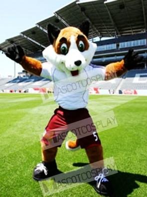High Quality Soccer Fox Mascot Costume