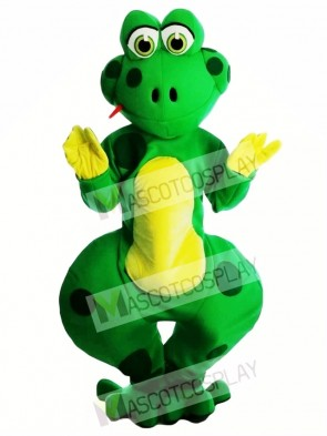 Friendly Froggles Frog Mascot Costume