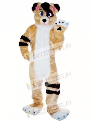 Friendly Fursuit Dog Mascot Costume Animal