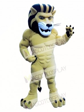 Power Lion Custom Animal Mascot Costume