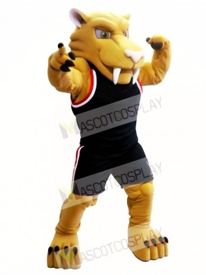 Sabretooth Tiger Mascot Costume