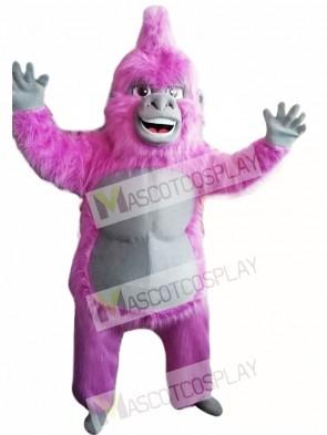Pink Gorilla Mascot Costume Adult Costume