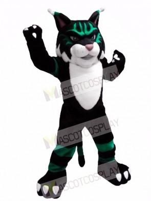 Colorful Wildcat Mascot Costume