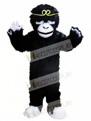 Black Orangutan Mascot Costume