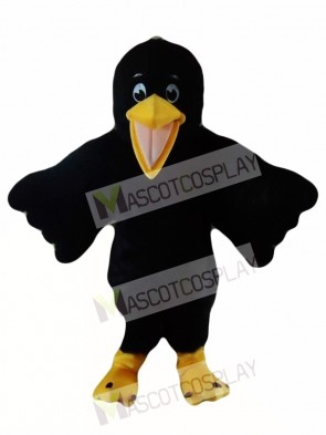 Black Bird Raven Mascot Costume