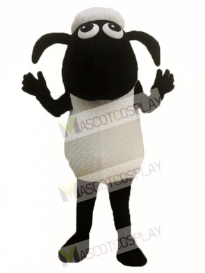 Adult Shaun the Sheep Mascot Costume Goat Mascot Costume