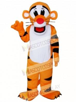 New Professional Tiger Mascot Cartoon Costume