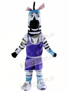 High Quality Adult Zebra Mascot Costume