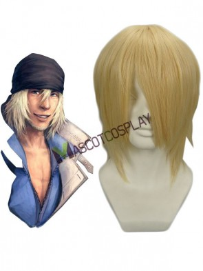 FINAL FANTASY 13 SNOW Nylon Cosplay Wig