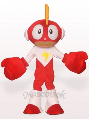Lighting Doll Plush Adult Mascot Costume