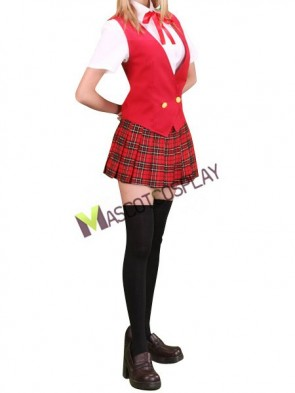 Magister Negi Magi Cosplay Costume