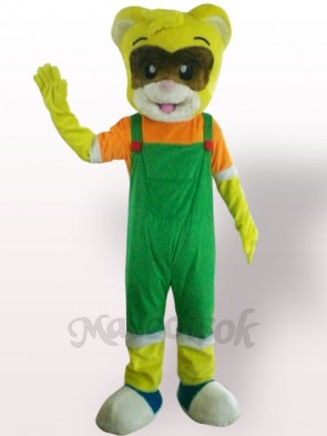 Male Cat Plush Adult Mascot Costume