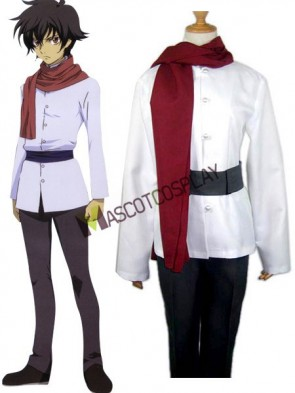 Mobile Suit Gundam 00 Setsuna Cosplay Costume