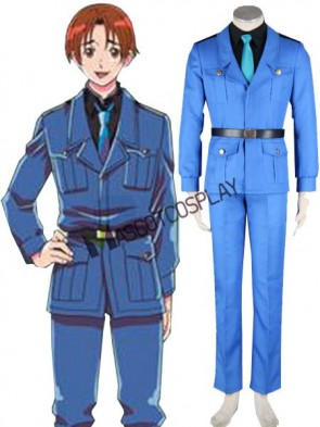 Modern Axis Powers Hetalia 3rd Cosplay Costume