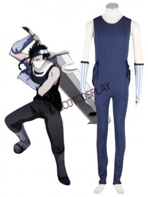 Modern Naruto Zabuza 65% Cotton 35% Polyester Mens Cosplay Costume Outfit