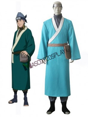 Naruto Ao Uniform Cloth Knitted Fabric Cosplay Costume