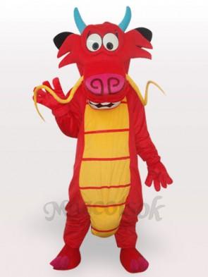Omelet Dinosaur Short Plush Adult Mascot Costume