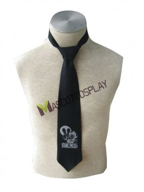 One Piece Monkey Cosplay Black Tie