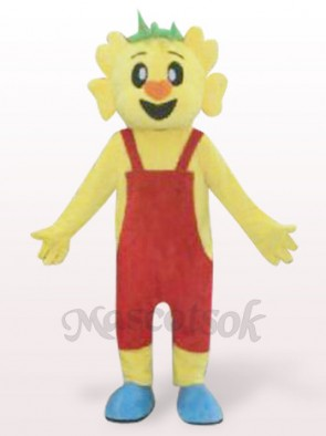 Orange Hair Koala Plush Adult Mascot Costume