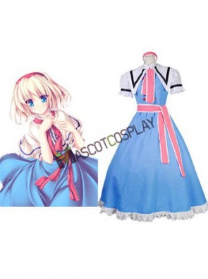 Phantasmagoria of Dim.Dream Alice Margatroid Cosplay Costume