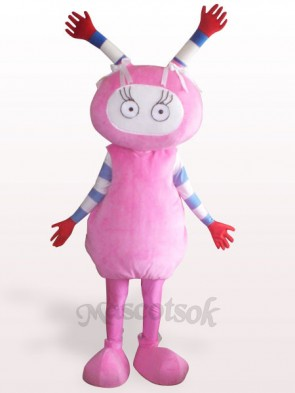 Pink Fairy Plush Adult Mascot Costume