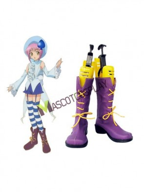 Shugo Chara Miki Imitated Leather Cosplay Shoes