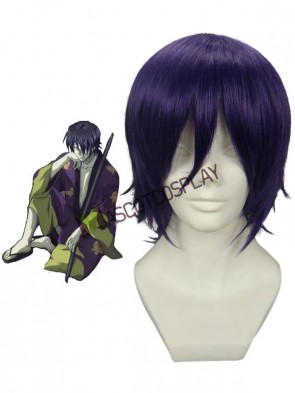Gintama Takasugi Shinsuke Anime Nylon Cosplay Wig