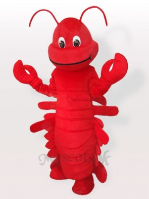 Red Cartoon Lobster Adult Mascot Funny Costume