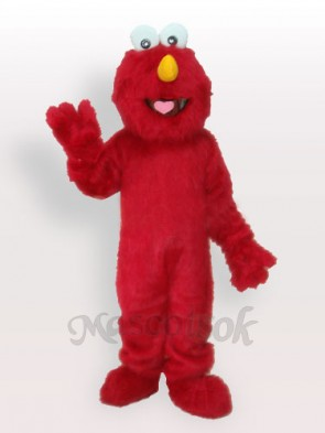 Red Fur Man Adult Mascot Funny Costume  Red Fur Man Adult Mascot Funny Costume