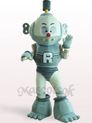 Robot Plush Adult Mascot Costume