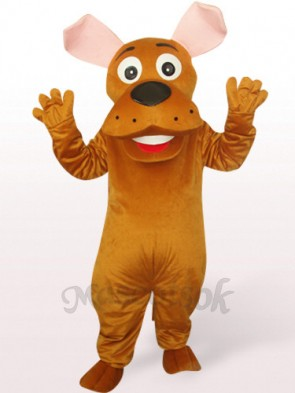 Round Nose Dog Plush Mascot Costume