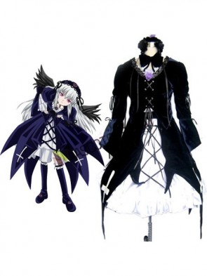 Rozen Maiden Mercury Lamp Cosplay Costume