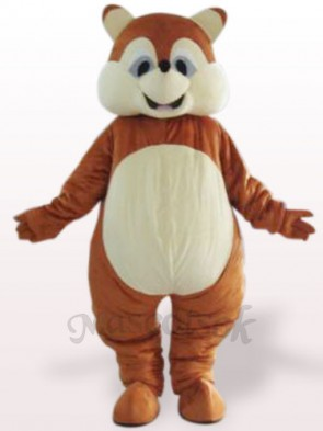 Squirrel Plush Adult Mascot Costume