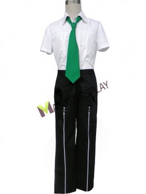 Short Sleeves Starry Sky Seigatsu Academy Male Summer Uniform Cosplay Costume