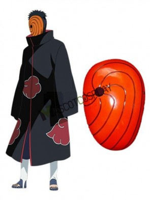 Wonderful Naruto Uchiha Madara PVC Cosplay Mask