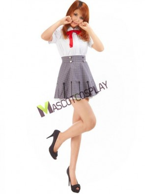 Wonderful Starry Sky Stellar Gin College Summer Girls Uniform Cosplay Costume