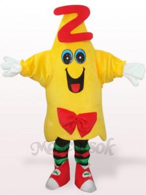 Yellow Star Doctor Plush Adult Mascot Costume