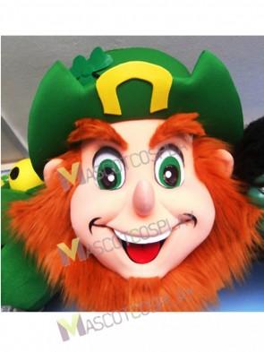 Leprechaun Head ONLY Mascot Costume