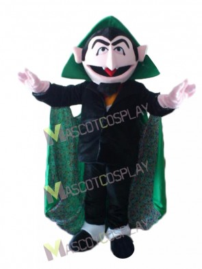 Sesame Street the Court Von Count Mascot Costume
