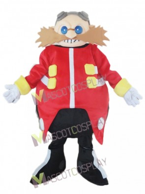 Dr. Eggman Dr. Ivo Robotnik from Sonic The Hedgehog Mascot Costume