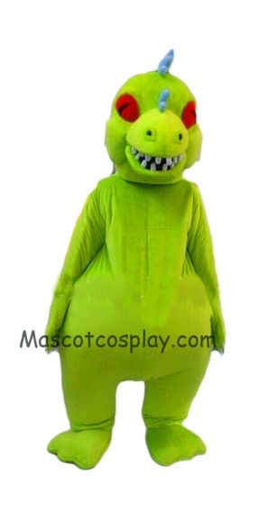 Hot Sale Realistic New Popular Professional Rugrats Reptar Mascot Costume Reptar Dinosaur Costume Reptar Adults Clothing Halloween