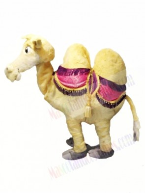 Brown 2 Person Camel Mascot Costume