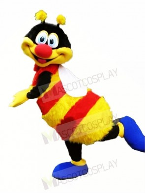 Colorful Happy Bee Mascot Costumes Animal