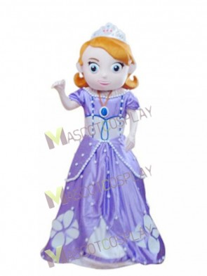Princess Sophia Mascot Costume