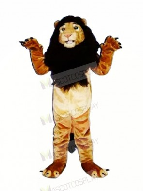 Strong King Lion Mascot Costumes Adult