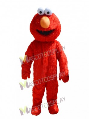 Cartoon Sesame Street Red Elmo Mascot Costume